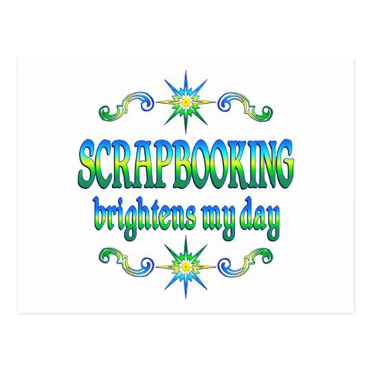 Scrapbooking Brightens Postcard