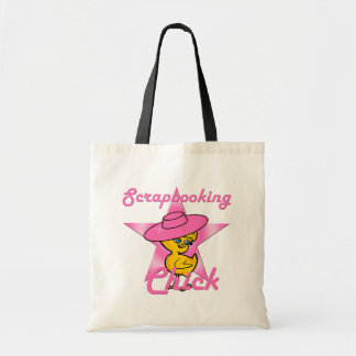 Scrapbooking Chick #8 Tote Bag