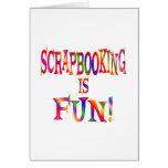 Scrapbooking es diversión felicitación