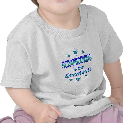 Scrapbooking es el más grande camisetas