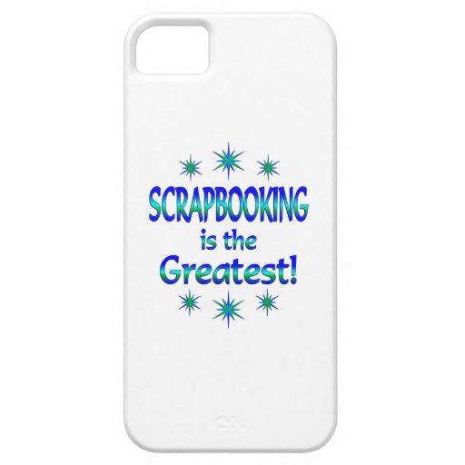 Scrapbooking es el más grande iPhone 5 carcasas