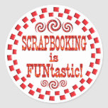Scrapbooking es Funtastic Etiquetas Redondas