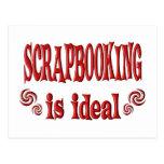 Scrapbooking es ideal postal