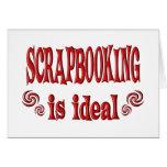 Scrapbooking es ideal tarjetas