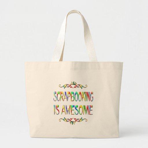 Scrapbooking es impresionante bolsas de mano