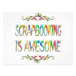Scrapbooking es impresionante invitación personalizada