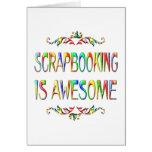 Scrapbooking es impresionante tarjetas