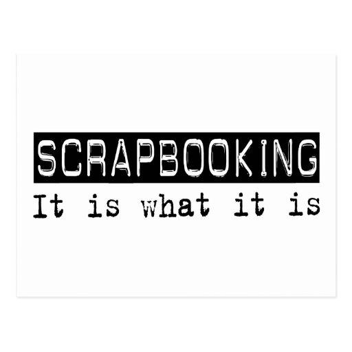 Scrapbooking es postal