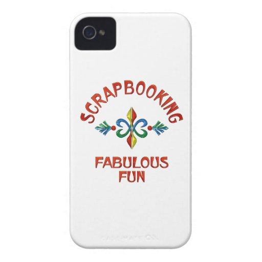 Scrapbooking Fabulous Fun iPhone 4 Case-Mate Case