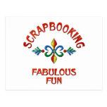 Scrapbooking Fabulous Fun Postcard