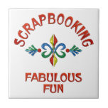 Scrapbooking Fabulous Fun Tile