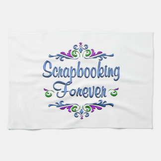 Scrapbooking Forever Hand Towel