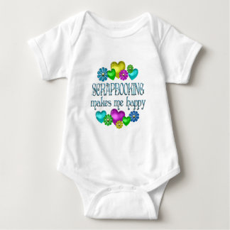 Scrapbooking Happiness Baby Bodysuit