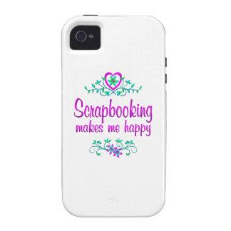 Scrapbooking Happy iPhone 4 Case