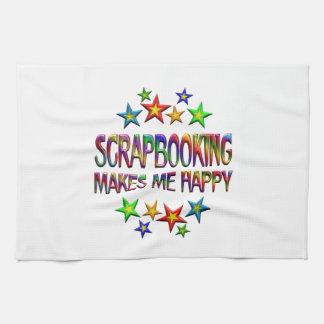 Scrapbooking Happy Kitchen Towel