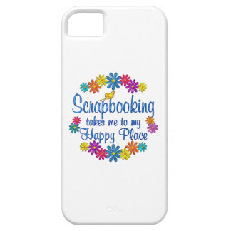 Scrapbooking Happy Place iPhone 5 Case