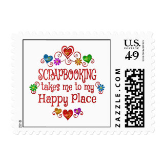Scrapbooking Happy Place Postage