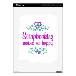 Scrapbooking Happy iPad 2 Skin