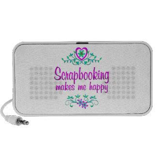 Scrapbooking Happy Travelling Speaker