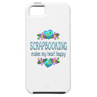 Scrapbooking Heart Happy iPhone 5 Covers