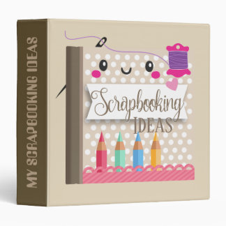 Scrapbooking Ideas cute kawaii crafting binder