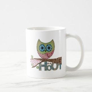 Scrapbooking is a Hoot Coffee Mug