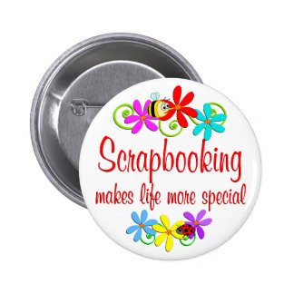 Scrapbooking is Special Button