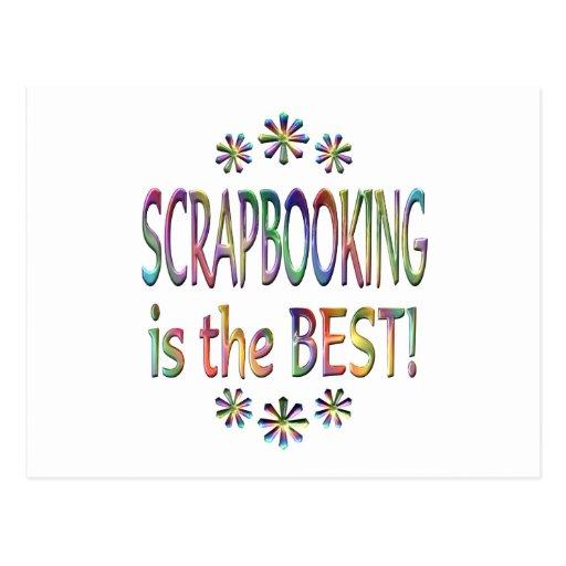 Scrapbooking is the Best Postcard