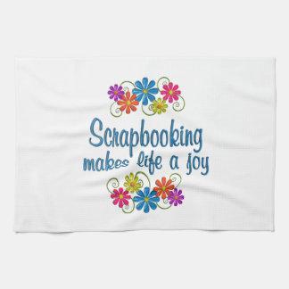 Scrapbooking Joy Hand Towel