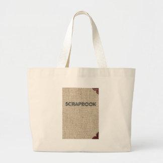 Scrapbooking Large Tote Bag