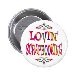 Scrapbooking Lover 2 Inch Round Button