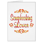 Scrapbooking Lover Card