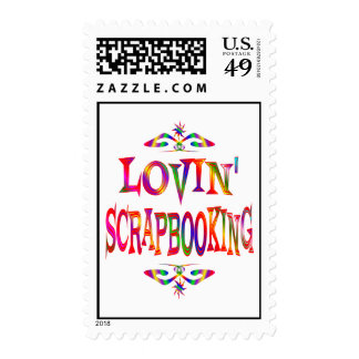 Scrapbooking Lover Postage Stamps