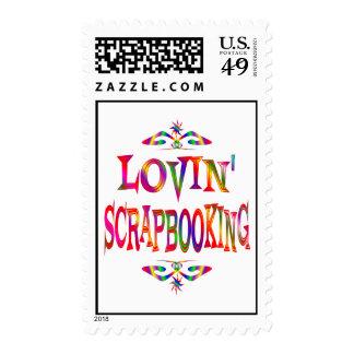 Scrapbooking Lover Postage Stamp