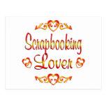 Scrapbooking Lover Postcard
