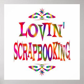Scrapbooking Lover Poster