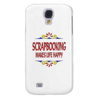 Scrapbooking Makes Life Happy Samsung Galaxy S4 Case