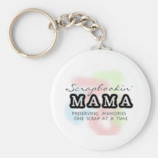 Scrapbooking Mama Keychain