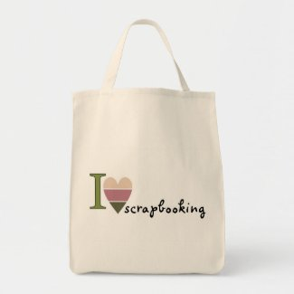 scrapbooking merchandise bag