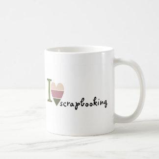 scrapbooking merchandise coffee mug
