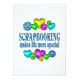 Scrapbooking More Special Card
