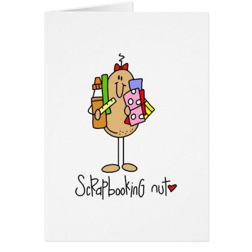 Scrapbooking Nut Greeting Card