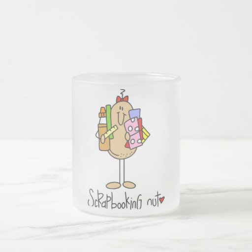 Scrapbooking Nut T-shirts and Gifts Coffee Mugs