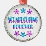 Scrapbooking para siempre ornaments para arbol de navidad