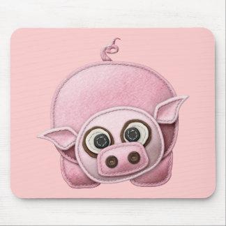 SCRAPBOOKING PINK PIG PIGGIE PIGLET CUTE CARTOON F MOUSE PAD