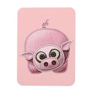 SCRAPBOOKING PINK PIG PIGGIE PIGLET CUTE CARTOON F MAGNET