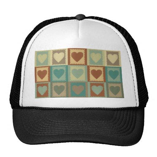 Scrapbooking Pop Art Mesh Hats