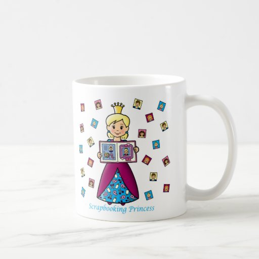 Scrapbooking Princess Classic White Coffee Mug