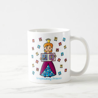 Scrapbooking Princess Coffee Mug