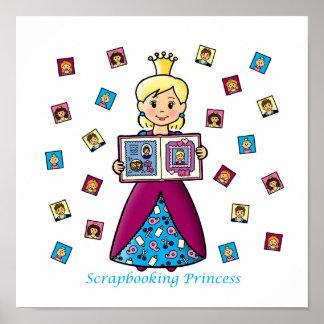 Scrapbooking Princess Posters